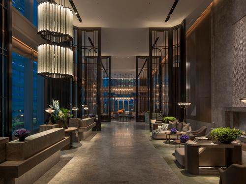 The St. Regis Hong Kong also features two specialty restaurants. / Courtesy of St. Regis Hotels and Resorts