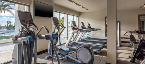 The hotel also features a well-equipped fitness studio. / Courtesy of Hilton Hotels