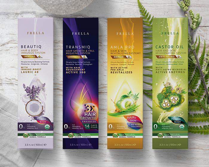 Frella combines natural ingredients with scientific methods
