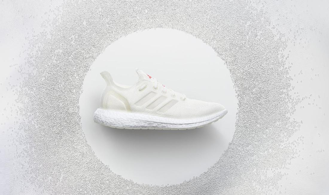 The shoes can be returned to Adidas where they are ground to pellets and melted into material for components for a new pair of shoes
