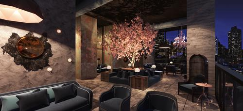 Hotel Hendricks also boasts a rooftop lounge and bar. / Courtesy of Marcello Pozzi