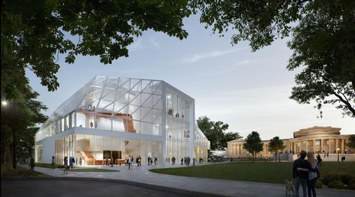 The revamped space is anticipated to open in 2021. / Courtesy of the Albert-Knox Art Gallery
