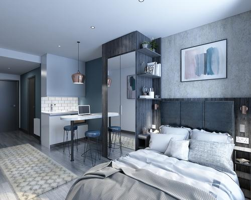 The Collective Canary Wharf will boast 750 flats. / Courtesy of The Collective