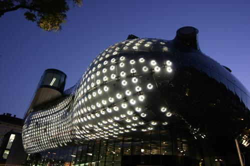 Cook called his Kunsthaus Graz project a