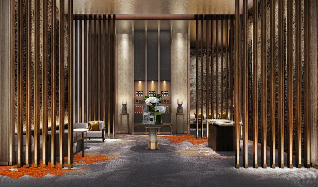 The interior design of the spa aims to blend five-star luxurious interior features with that of the Malaysian culture