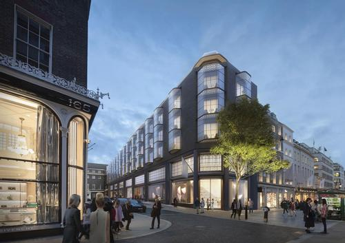 The new hotel will be located in London's Mayfair  / Foster + Partners