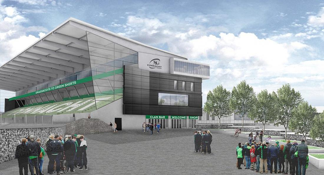 The project will secure the long-term future of Galway Sportsground as the home of Connacht Rugby