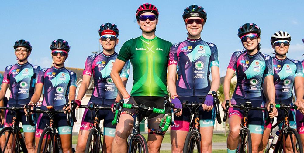 The Academy experience will also act as an extended trial with Storey Racing, Dame Sarah Storey's professional race team