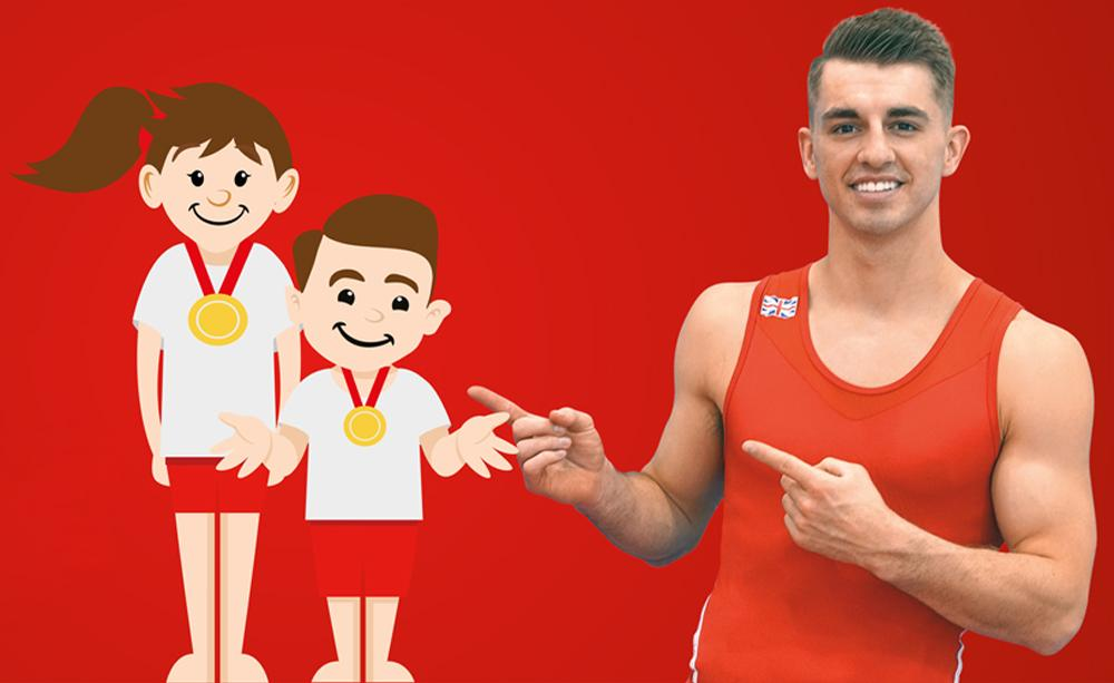 The 'Mini Max' initiative will offer keen young gymnasts the opportunity to win one-to-one mentoring sessions with Whitlock