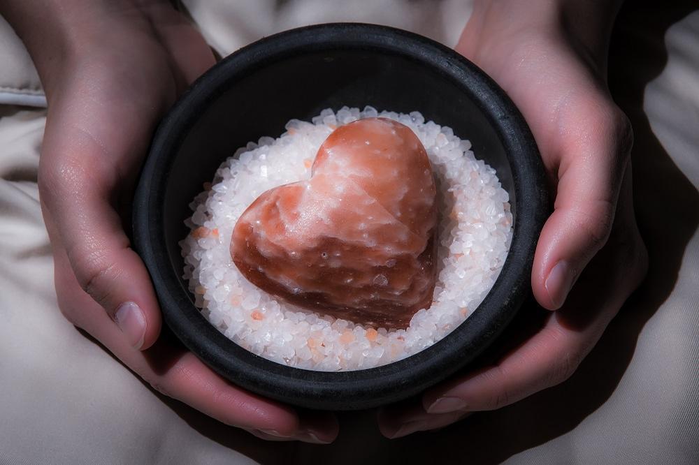 Saltability creates eco-friendly Himalayan salt stone treatments for spas