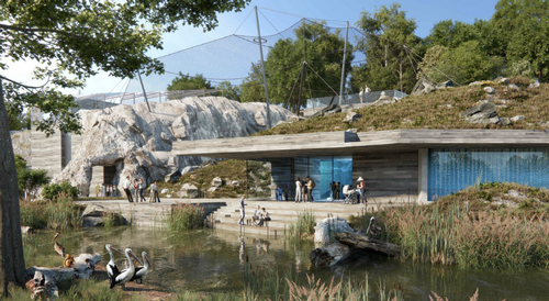 The project's exteriors will be inspired by Alpine scenery / Pumar Architekten