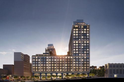 The complex is anticipated to be completed in 2021 / Williams New York