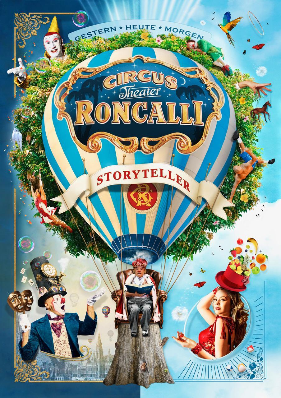 Circus Roncalli has been touring since 1976 / Circus Roncalli