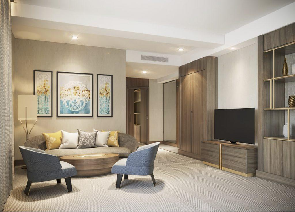GOCO Life Alatau will have a gross floor area of 45,000sq m and 212 guest rooms, and is being designed by local firm INK Architects along with GOCO's in-house team, led by Josephine Leung