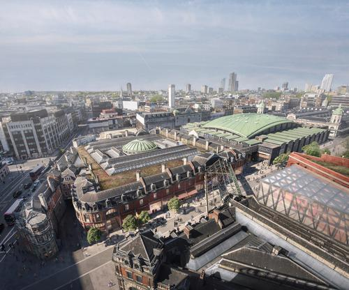 The designs of the new space will be on view to the public at the new, undeveloped site in West Smithfield as well as the current site in London Wall