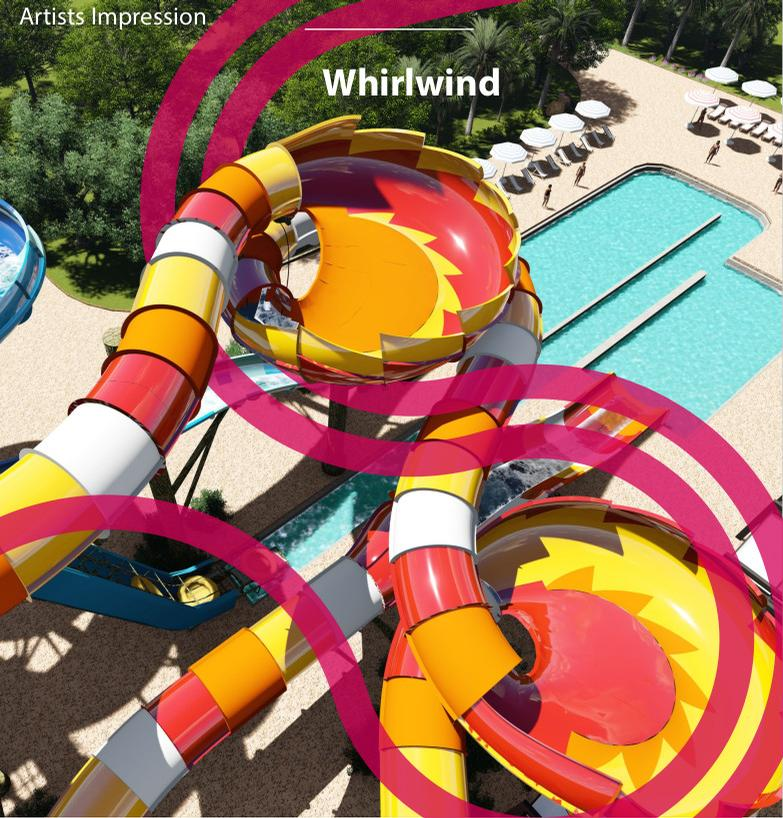 An artist's impression of the new Whirlwind ride