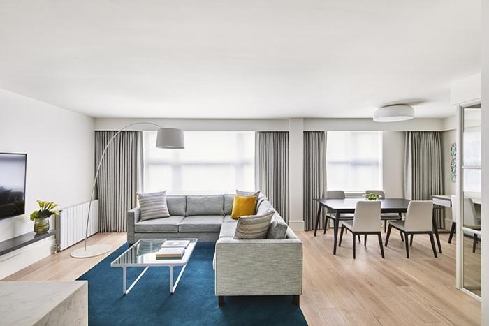 The residences offer the same services as the nearby Metropolitan Hotel / Como Shambhala