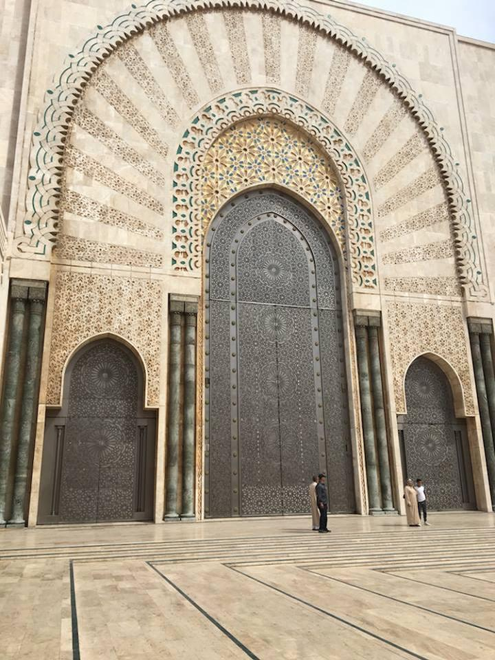 The mosque is said to be one of the most beautiful religious buildings in the world / Morocco World News