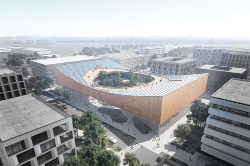 The new science museum will be built within Lund's Science Village Scandinavia