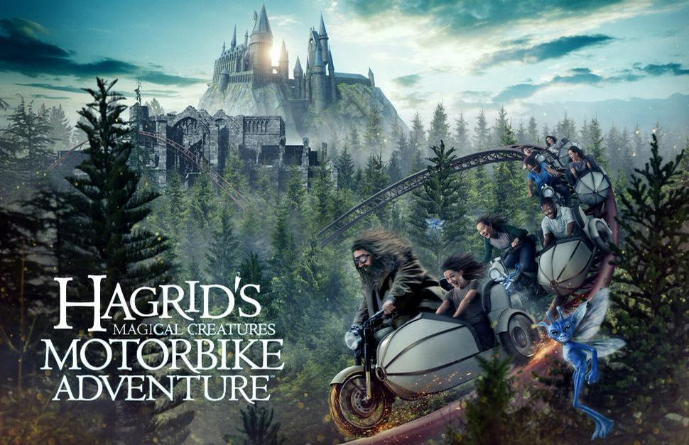 A Harry Potter-themed rollercoaster was opened in Universal Orlando this summer / Universal Orlando Resort