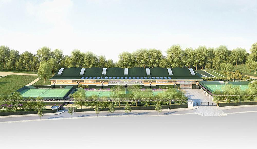 Facilities will include 12 new tennis courts (six indoor and six outdoor) and a new clubhouse