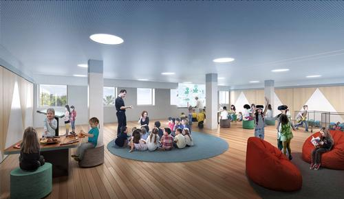 New education spaces will be included in the refit / Neeson Murcutt/Cox Architecture