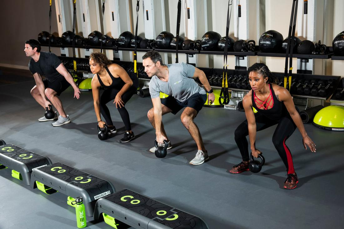 Spenga studios have been designed so each workout stage will have its own dedicated space