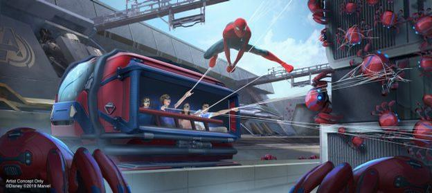 In the WEB experience, guests will help Spider-Man collect runaway Spider-Bots