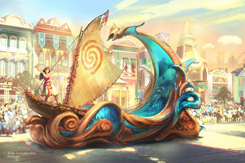 <i>Moana</i> is one of the movies featured in the new <i>Magic Happens</i> parade
