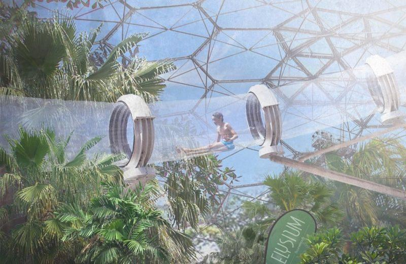 The year-round attraction would feature VR and AR synchronised water rides and transparent flumes