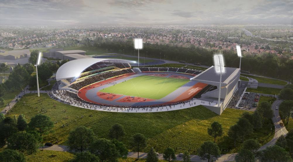 Commonwealth Games legacy: Birmingham City University
