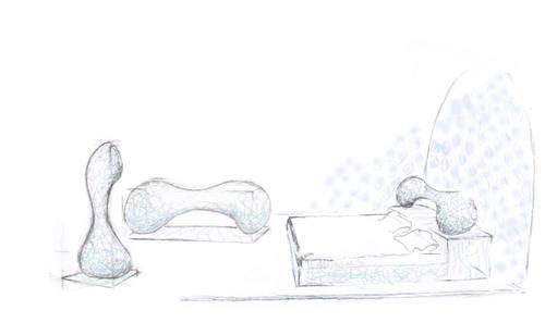 'Bone Room' by UK artist and sculptor Robert Harding