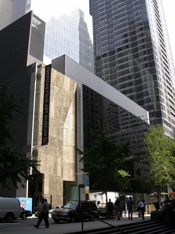 The American Folk Art Museum New York City, New York / Tod Williams Billie Tsien Architects   Partners