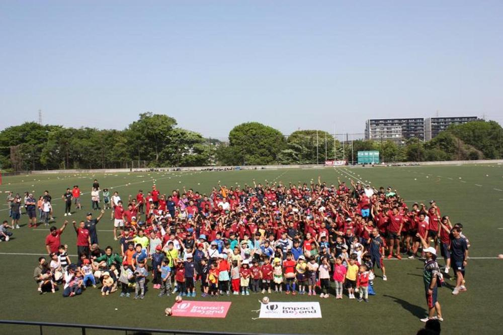In Japan alone more than 769,000 schoolchildren have been introduced to tag rugby