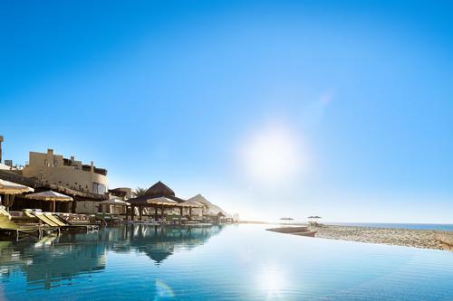 The main pool at the resort