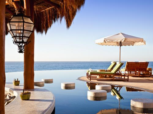 The resort has three swimming pools