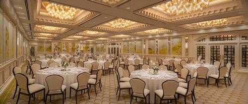 The Palm Ballroom at Raffles Singapore / Accor