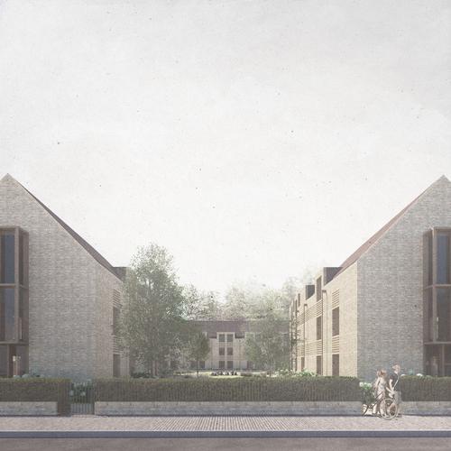 King's College Croft Gardens by Feilden Clegg Bradley Studios / Feilden Clegg Bradley Studios