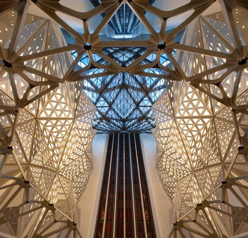 Morpheus Hotel by Zaha Hadid Architects / Virgile Simon Bertrand