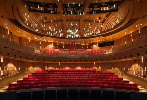 Royal Academy of Music - Theatre and new recital hall by Ian Ritchie Architects / Adam Scott