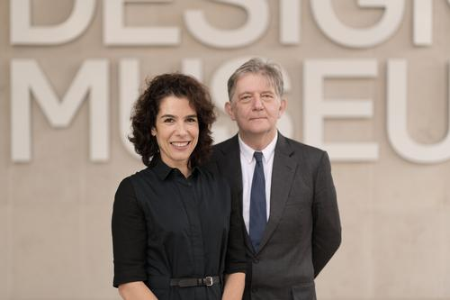 Alice Black and Deyan Sudjic have overseen a fivefold increase in the Design Museum's annual visitor numbers / Phil Sharp