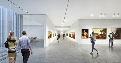 The project is valued at $20m (€18m, £16m) / Brooks + Scarpa & KMF Architects
