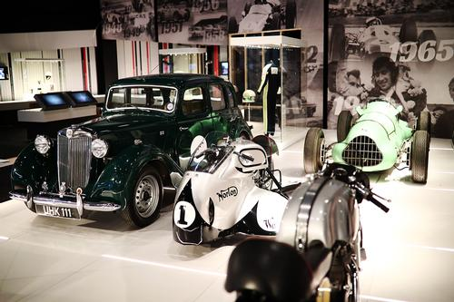 Exhibits include old and classic vehicles / The Silverstone Experience
