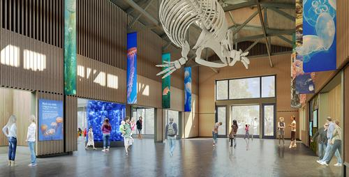 The aquarium is raising a targeted $18.2m (€16.5m, £14.4m) for the project / Oregon Coast Aquarium