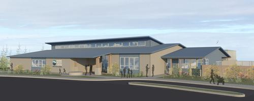 The current rehab centre is housed in a repurposed warehouse / Oregon Coast Aquarium