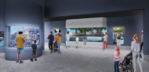 Educational programming will also be updated / Oregon Coast Aquarium