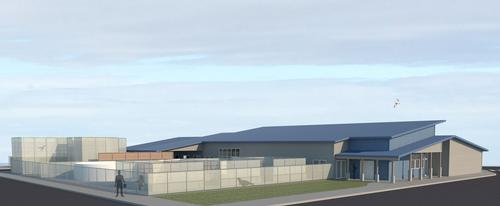 The new centre will have a surgical facility and sustainable building features / Oregon Coast Aquarium
