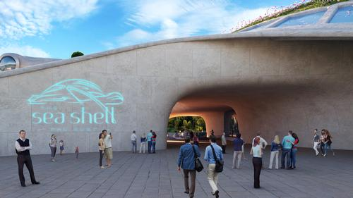 The aquarium is anticipated to open in mid-2020 / Legacy Entertainment