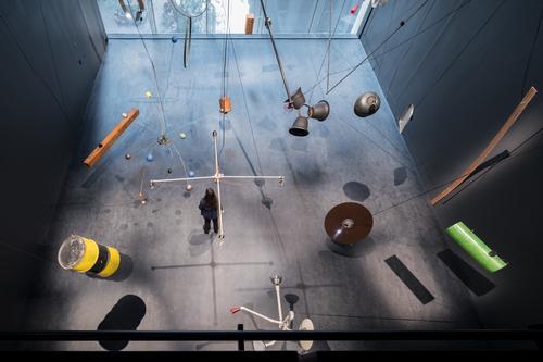 An installation view of the Marie Josée and Henry Kravis Studio / Iwan Baan