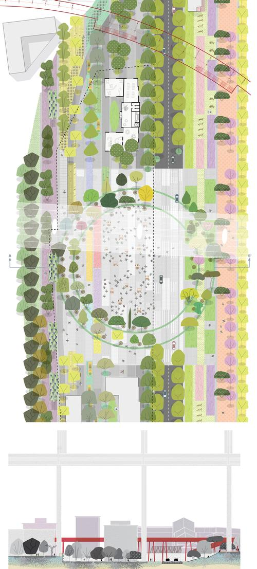 The Polcevera Park is a series of parks with different ecologies and infrastructures